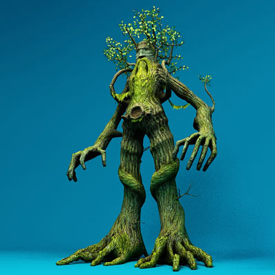 3D model of Treebeard the Ent