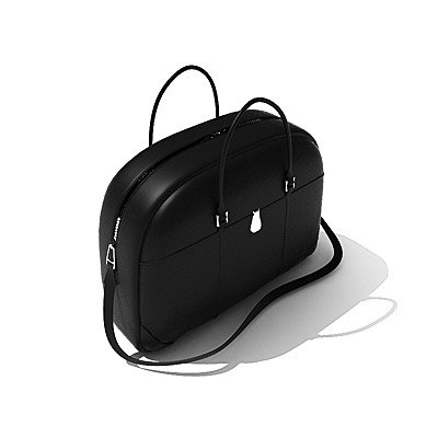 3D model of a laptop bag