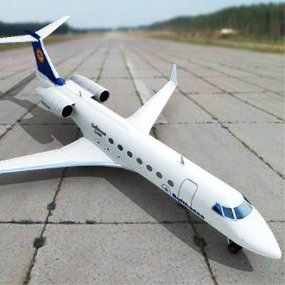 Realistic and detailed Gulfstream G500 3D model
